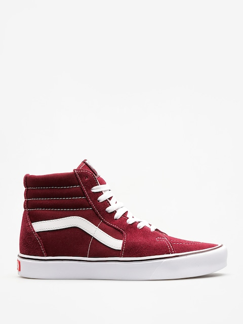Vans Schuhe Sk8 Hi Lite (suede/canvas/port/royale/true/white)
