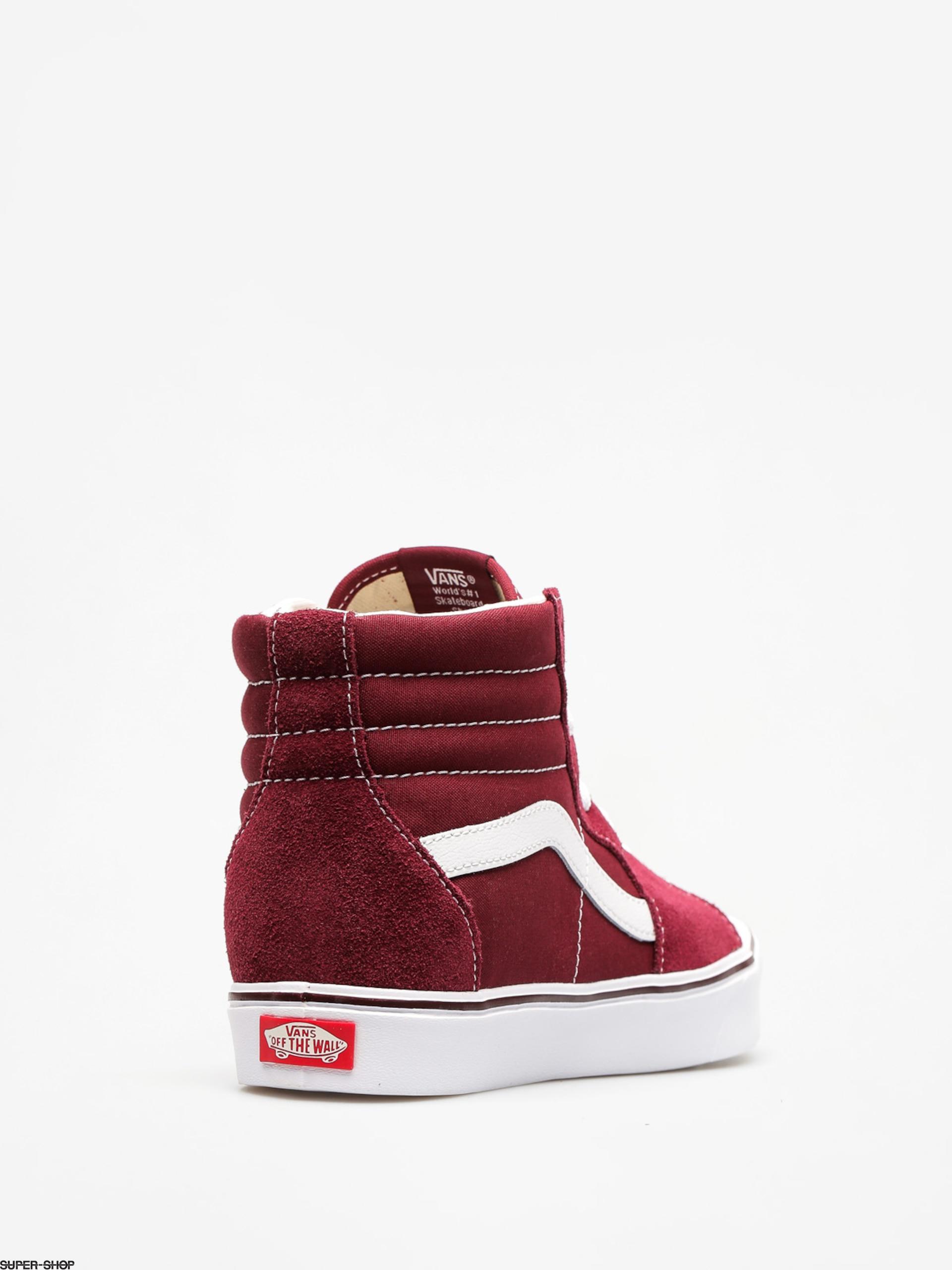 bf18af244dc77b Vans Shoes Sk8 Hi Lite (suede canvas port royale true white)