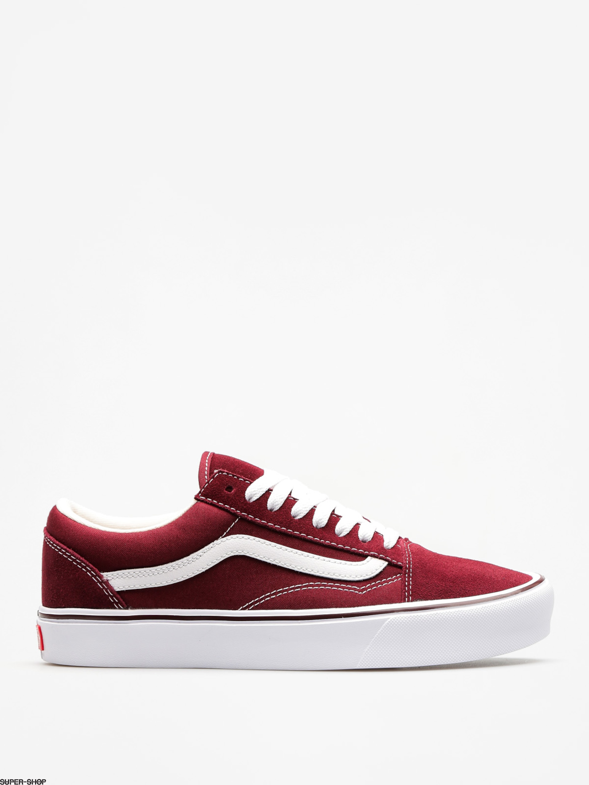 Vans Schuhe Old Skool Lite (suede/canvas/port/royale/true/white)