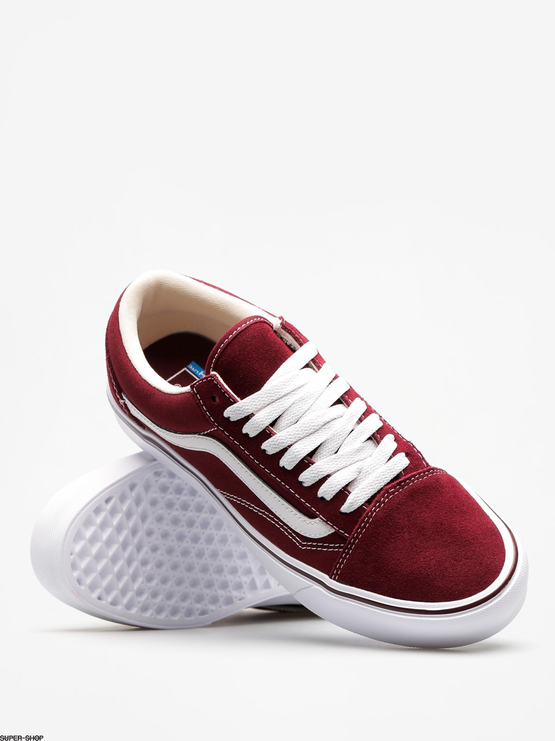 Vans Shoes Old Skool Lite (suede canvas port royale true white) cc5f3faeca