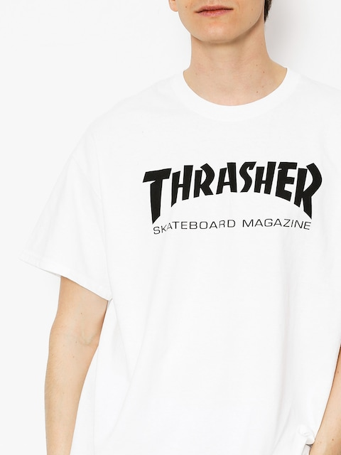 Thrasher Shirt Skate Mag (white)