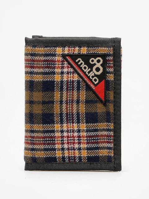 Malita Wallet Blanket 1 (green/navy/yellow)