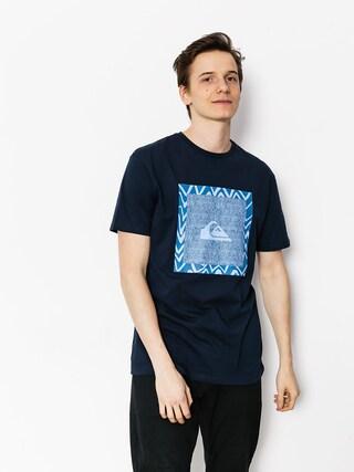 Quiksilver T-shirt Classic Nano Spano (navy blazer)