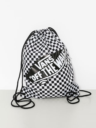Vans Backpack Benched Bag Wmn (black white/checkerboard)