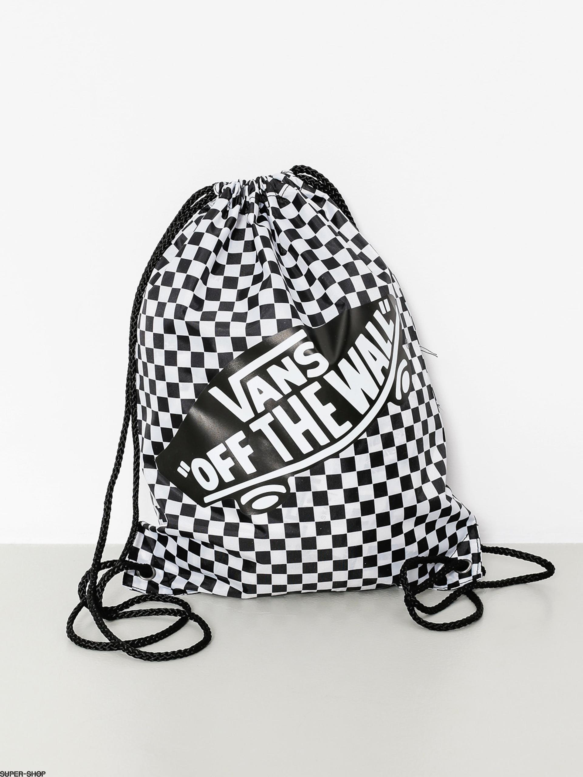 Vans Backpack Benched Bag Wmn (black white/checkerboard)