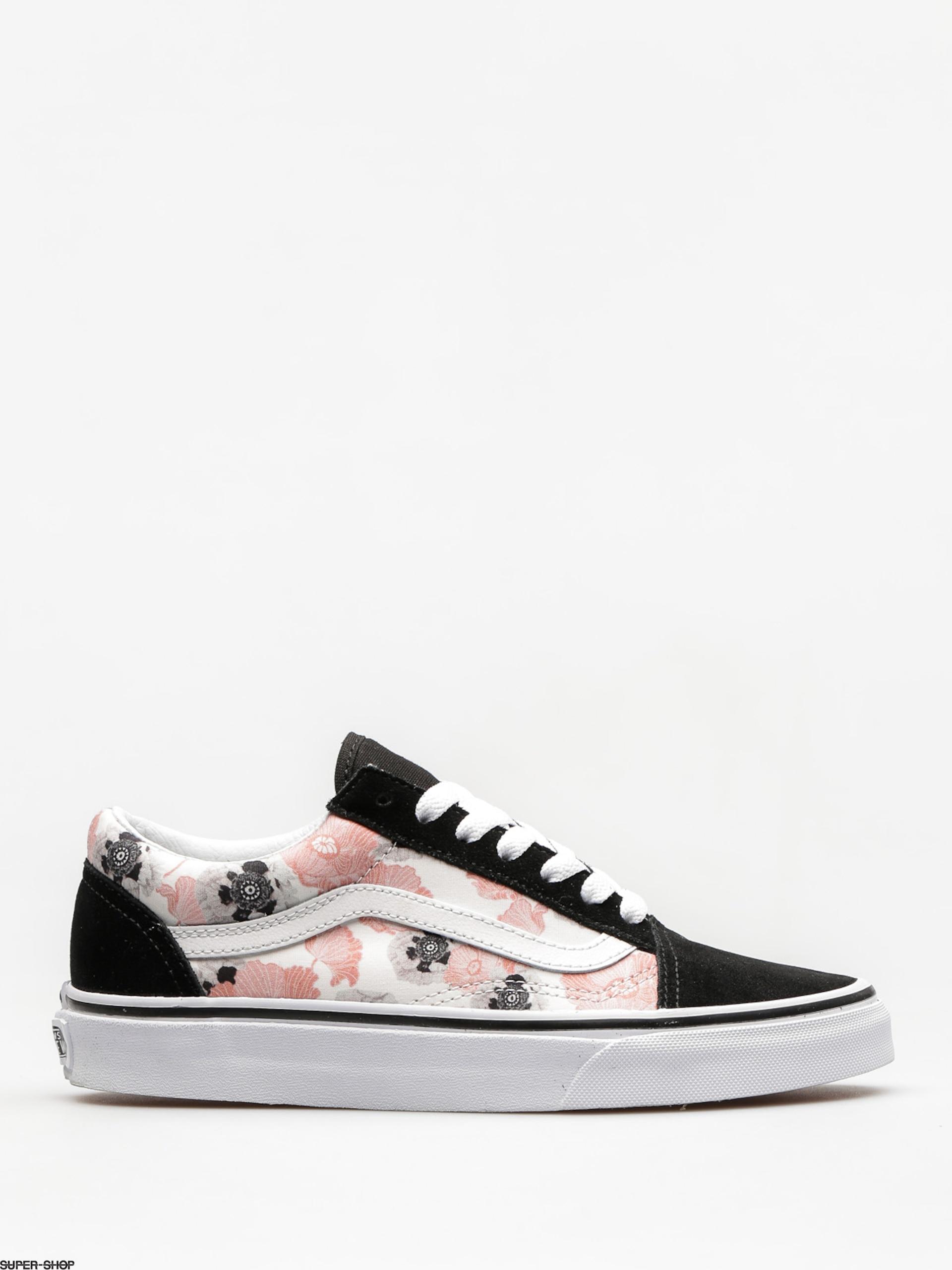 Vans Shoes Old Skool (california/poppy/multi/true/white)