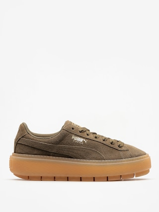 Puma Shoes Platform Trace Wmn (olive night)