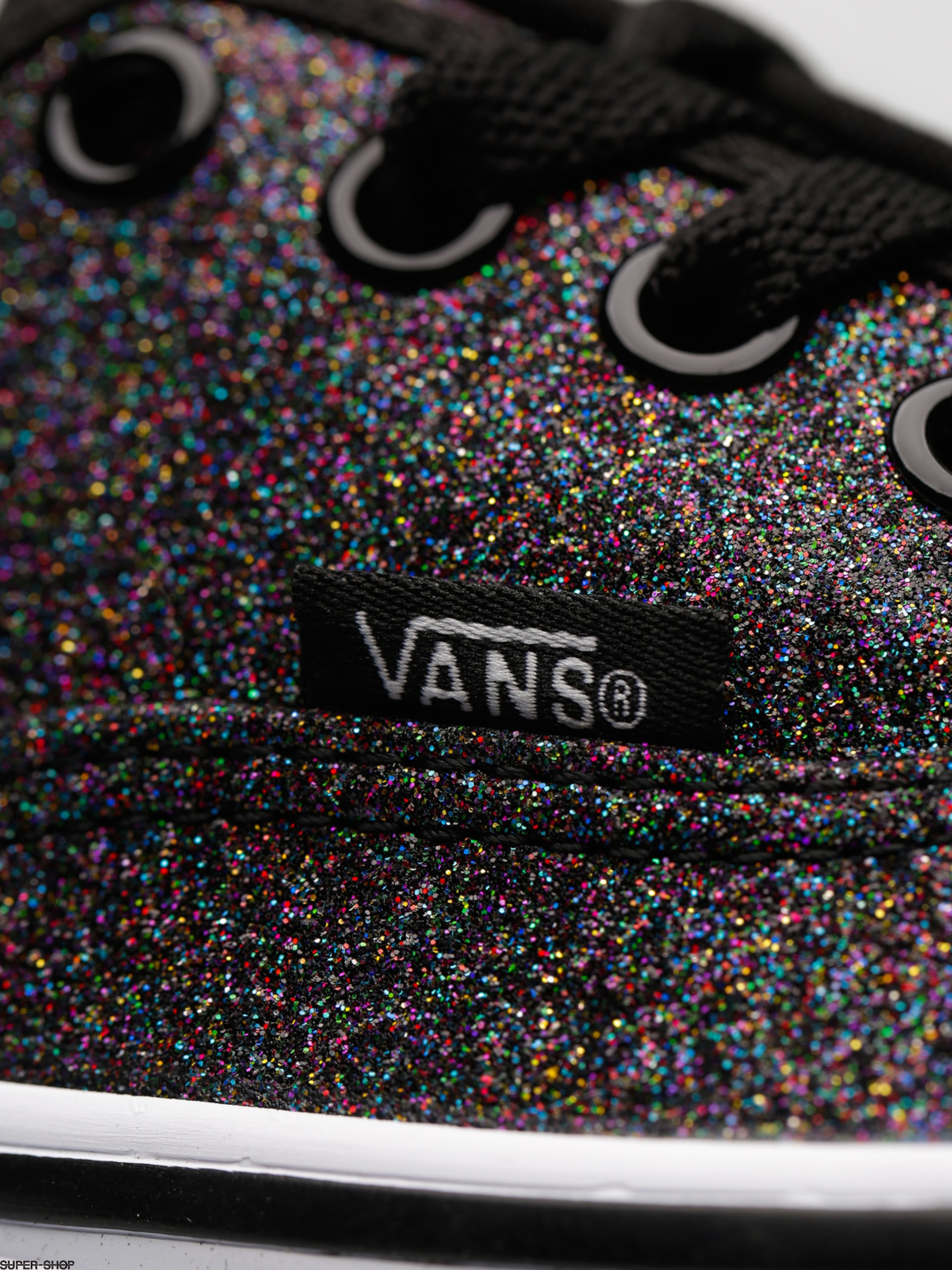Vans Shoes Authentic (glitter rainbow black) 94520e084
