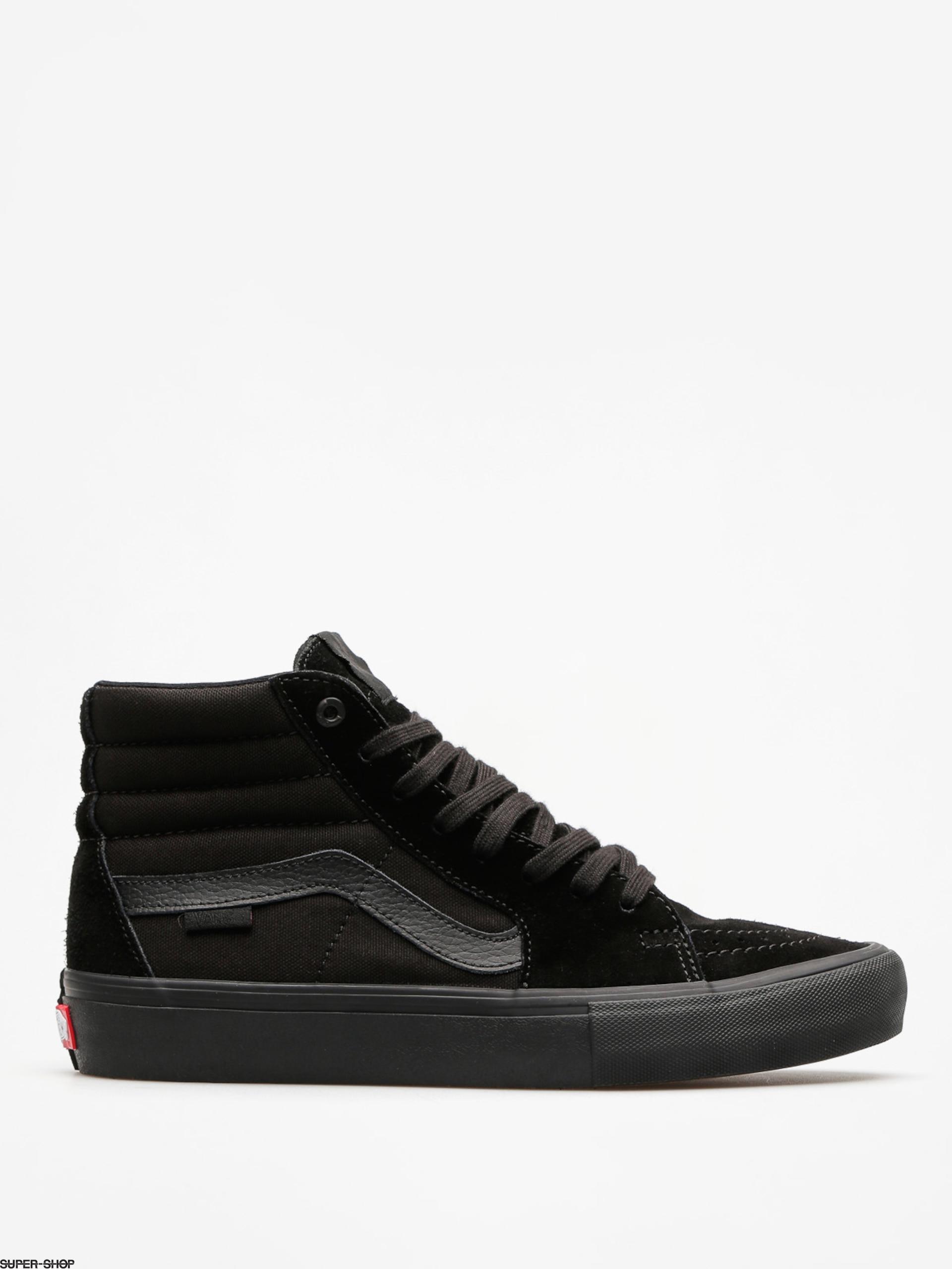 Vans Shoes Sk8 Hi Pro (blackout)