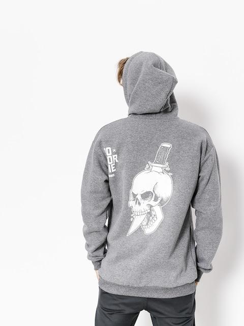 Diamante Wear Hoodie Do Or Die ZHD (grey)