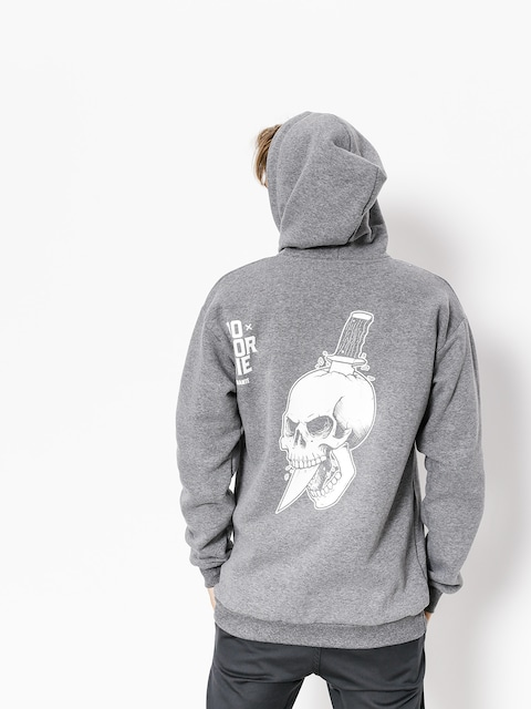 Diamante Wear Hoody Do Or Die ZHD (grey)