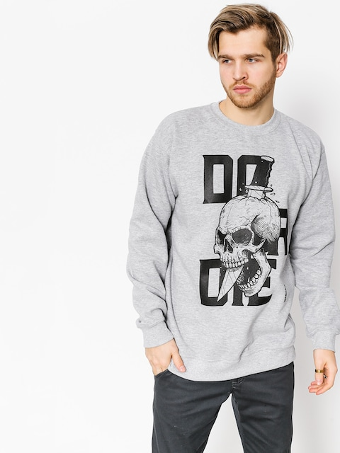 Diamante Wear Sweatshirt Do Or Die (grey)
