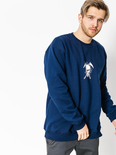 Diamante Wear Sweatshirt Don't Die (navy)