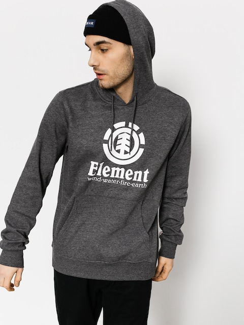 Element Hoodie Vertical HD (charcoal heathe)