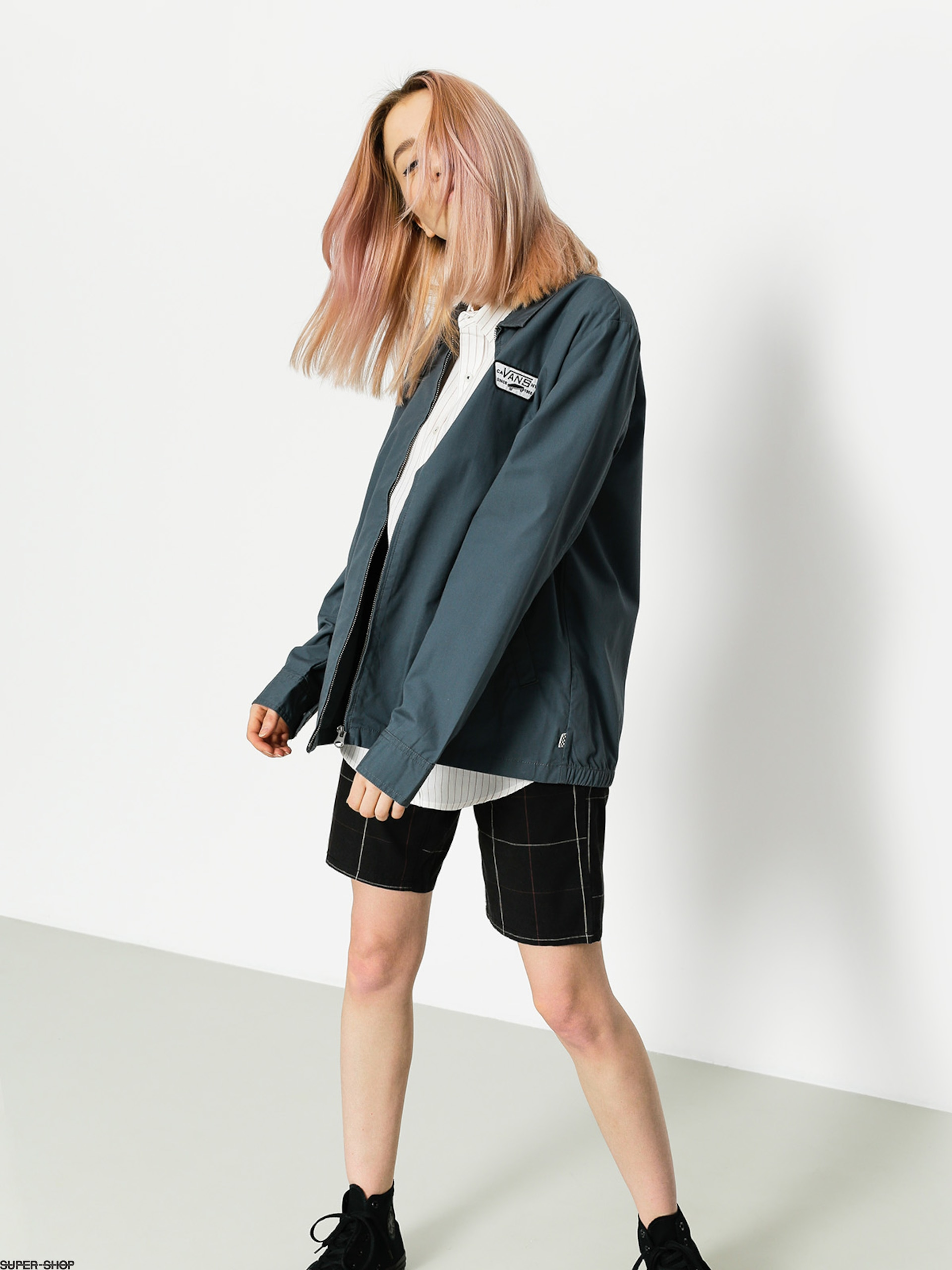 Vans Jacket Station Wmn (dark/slate)
