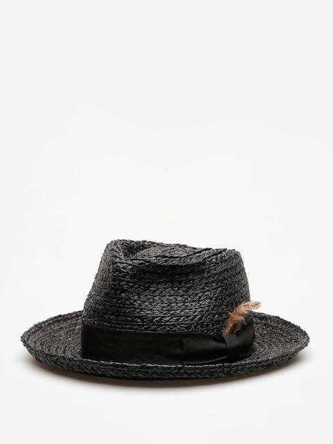 Brixton Hut Crosby Fedora (black)