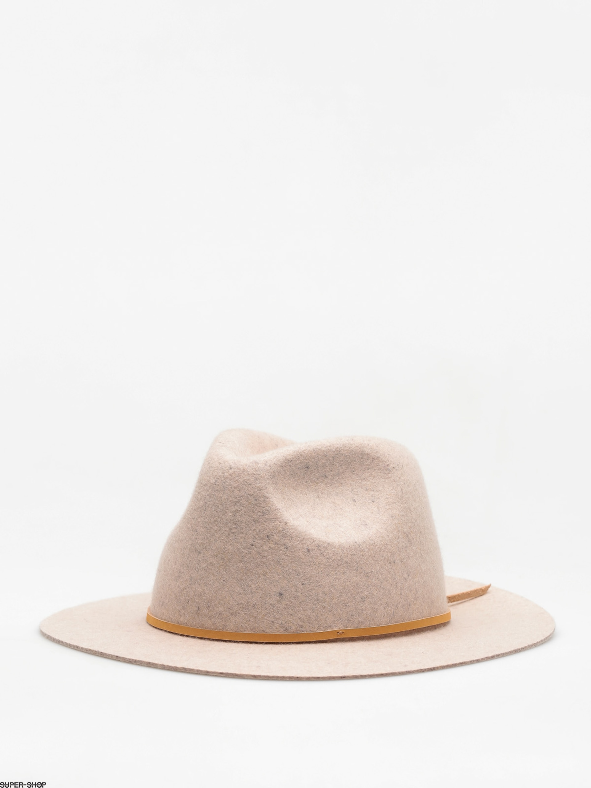 Brixton Hat Wesley Fedora (heather stone)