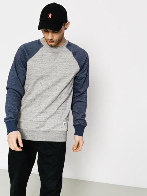 Element Sweatshirt Meridian Block Cr (grey heather)