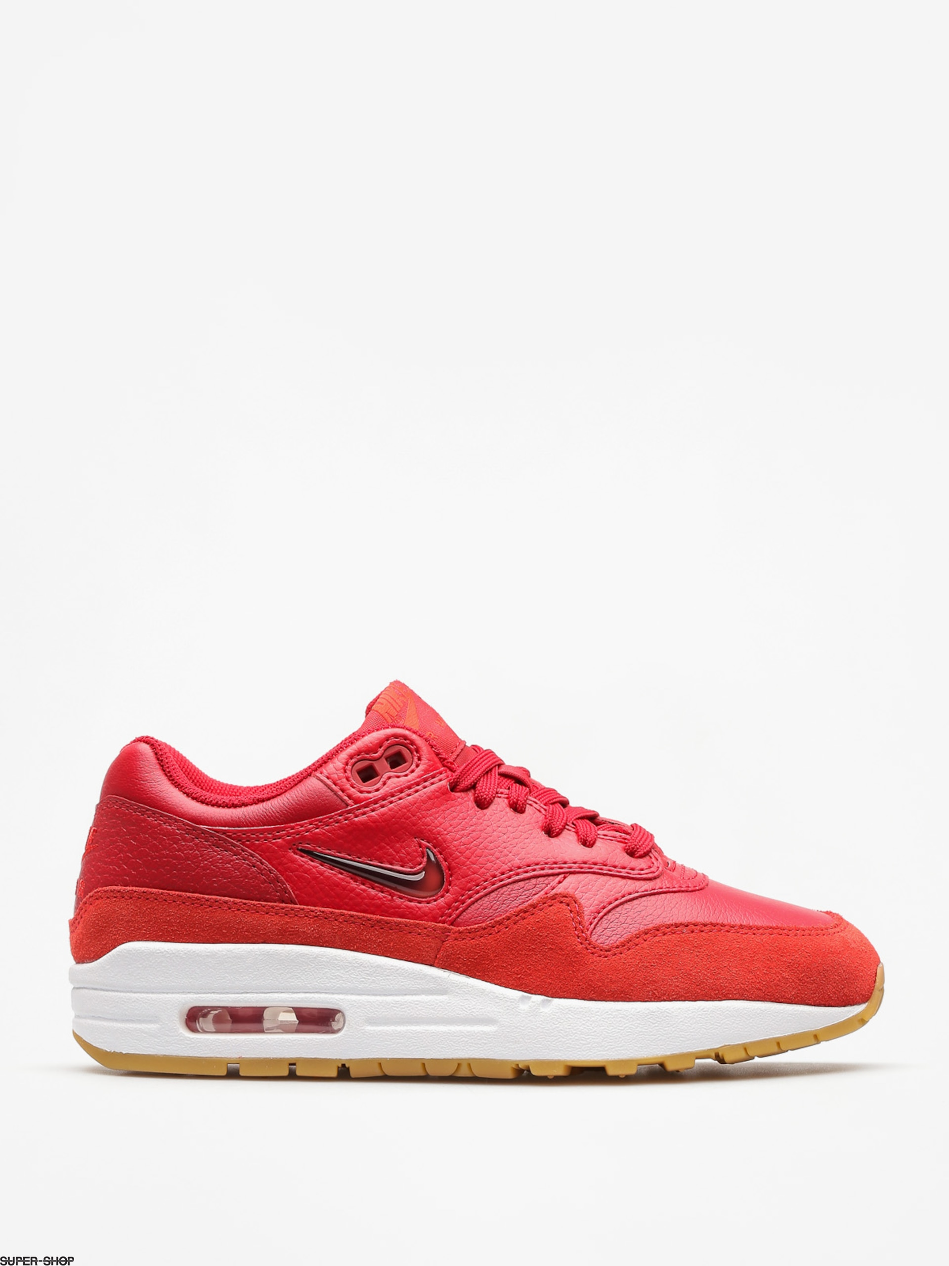 Nike Schuhe Air Max 1 Premium Sc Wmn (gym red/gym red speed red)