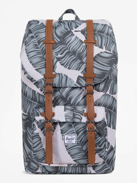 Herschel Supply Co. Backpack Little America (silver birch palm/tan synthetic leather)