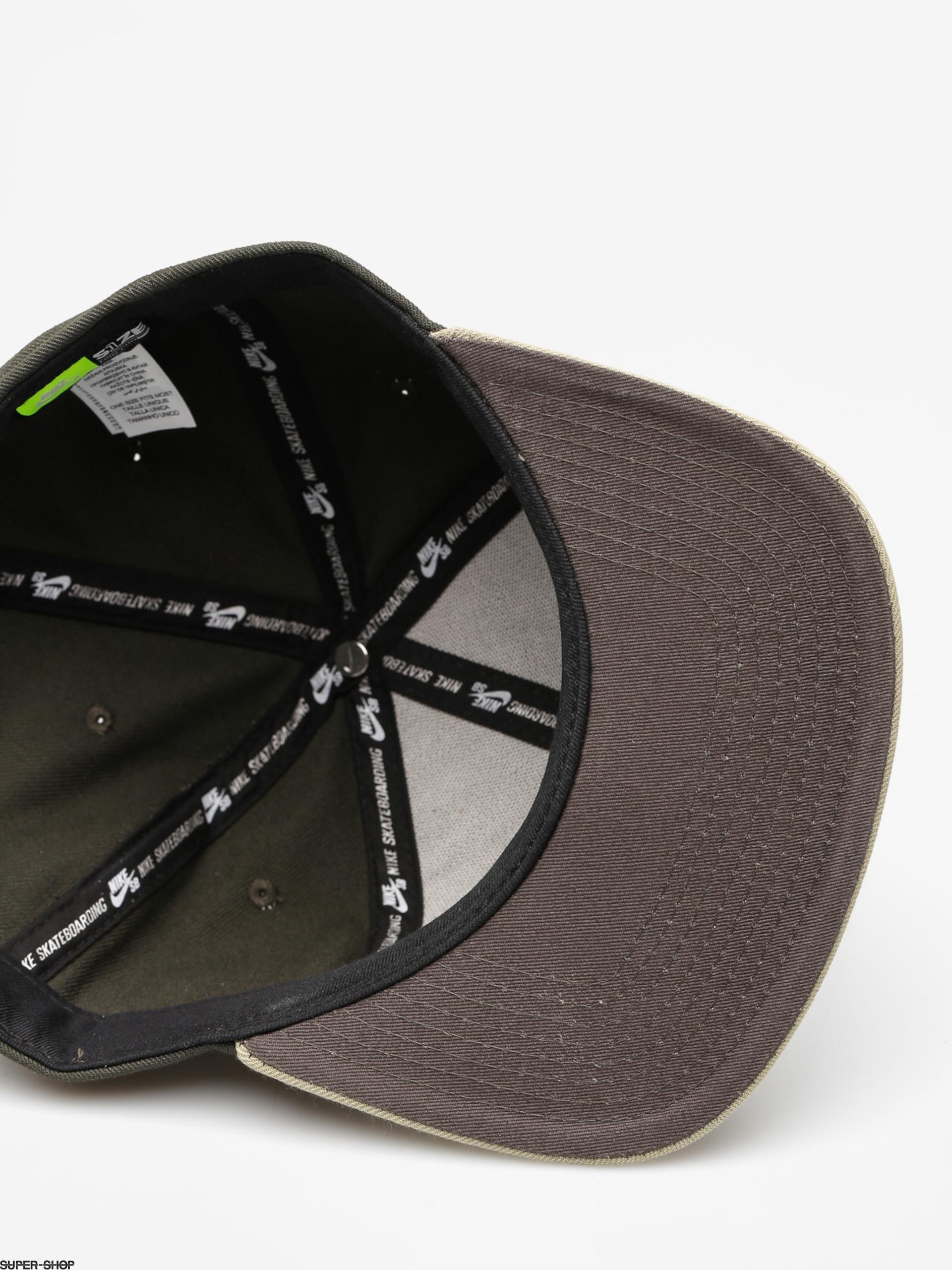 abf12741e Nike SB Cap Sb Icon Snapback ZD (sequoia/neutral olive/neutral olive)