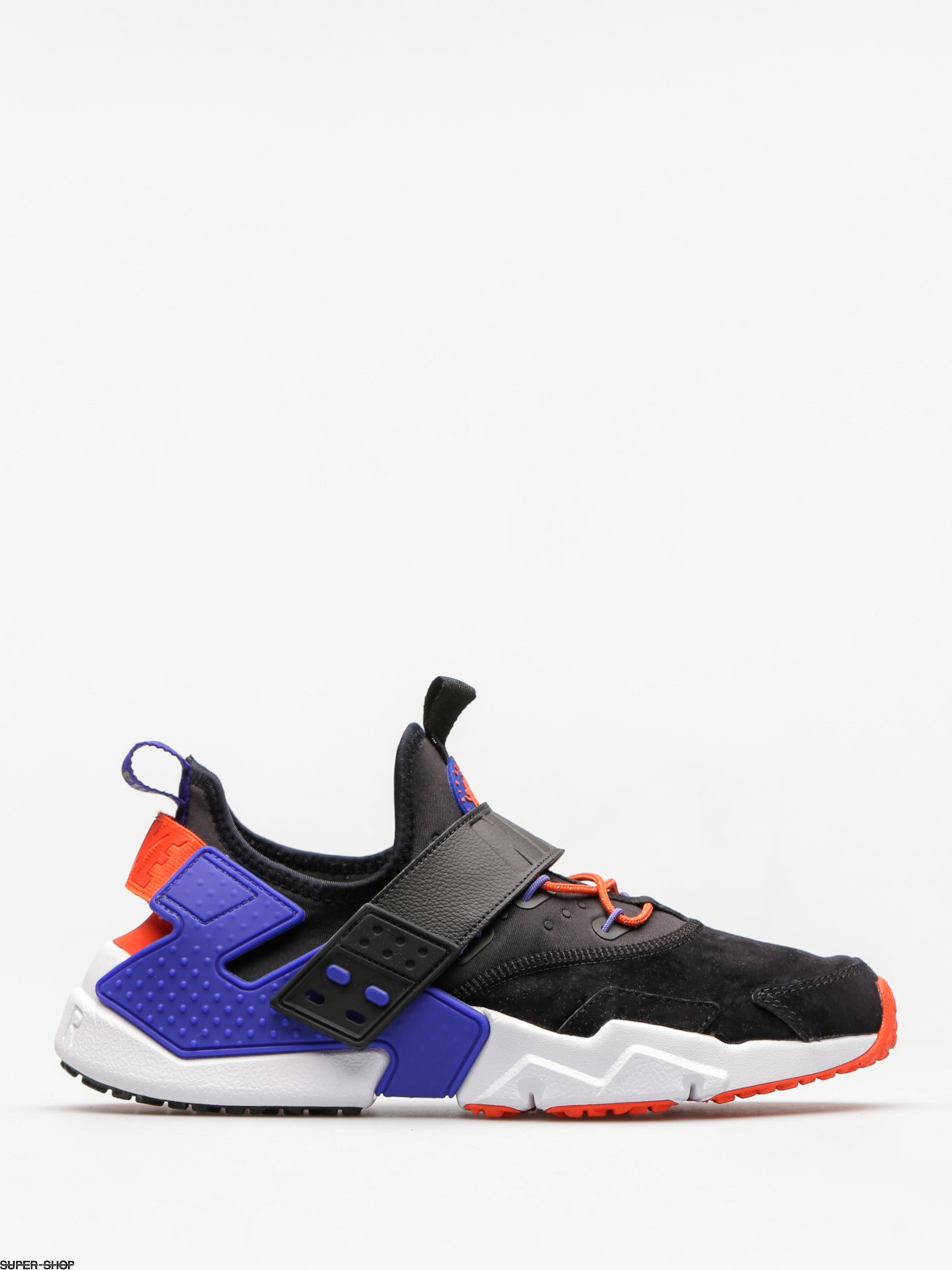 Nike Shoes Air Huarache Drift Premium (black/rush violet rush orange)