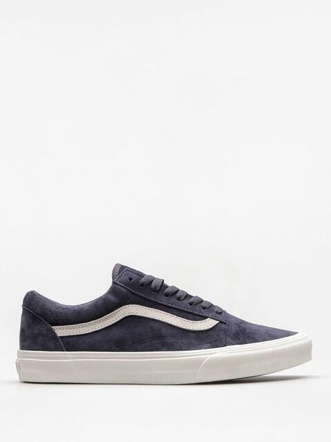 Vans Shoes Old Skool (pig/suede/parisian/night/blanc/de/blanc)