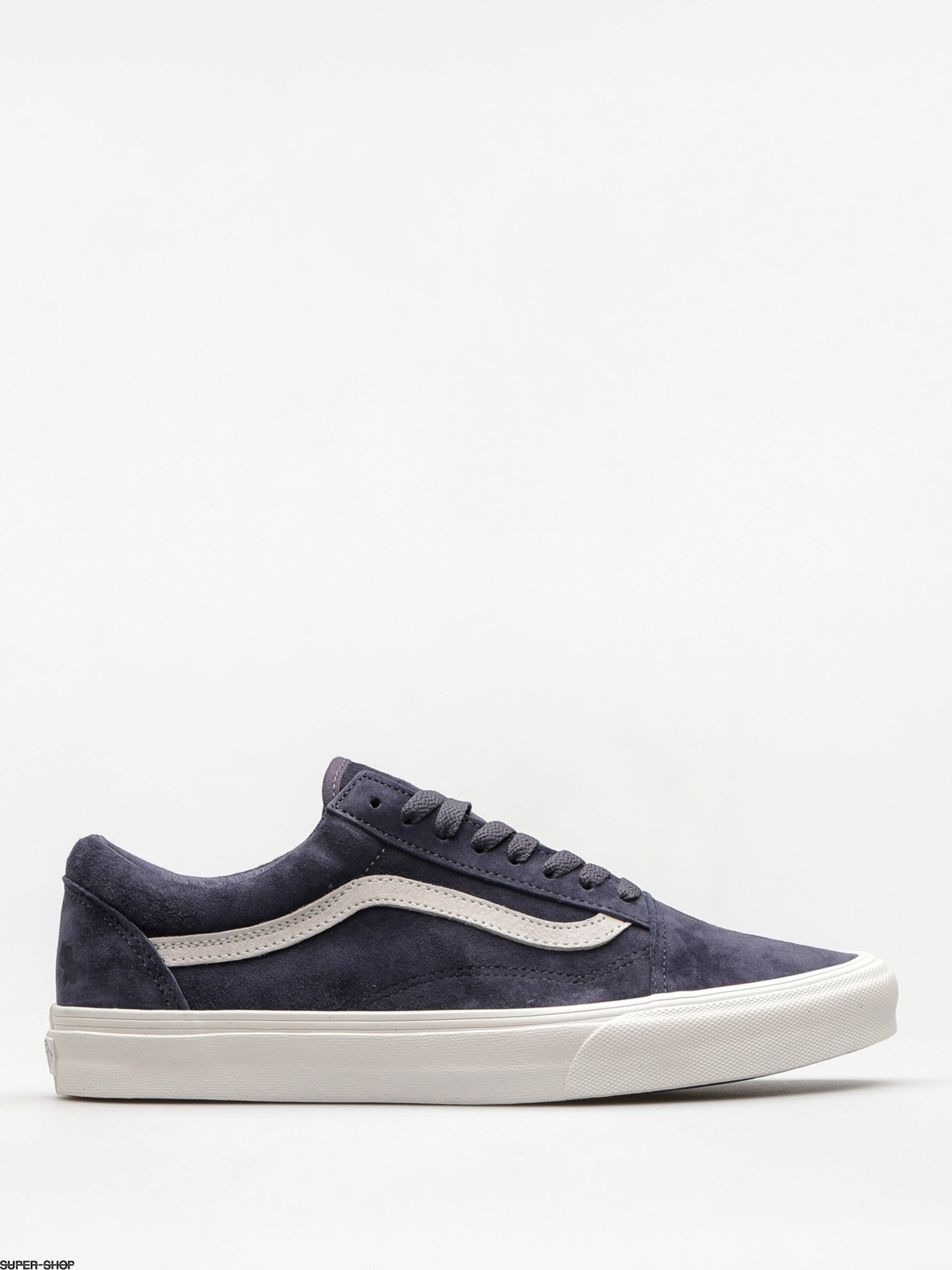 0f2ccb36173952 Vans Shoes Old Skool (pig suede parisian night blanc de blanc)