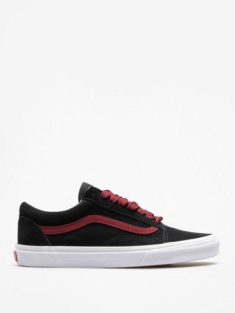 Vans Shoes Old Skool (oversized/lace/black/port/royale)
