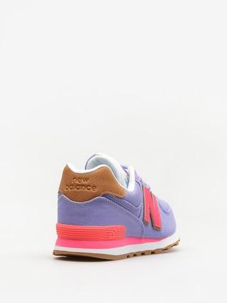 New Balance Shoes 574 (purple/pink)