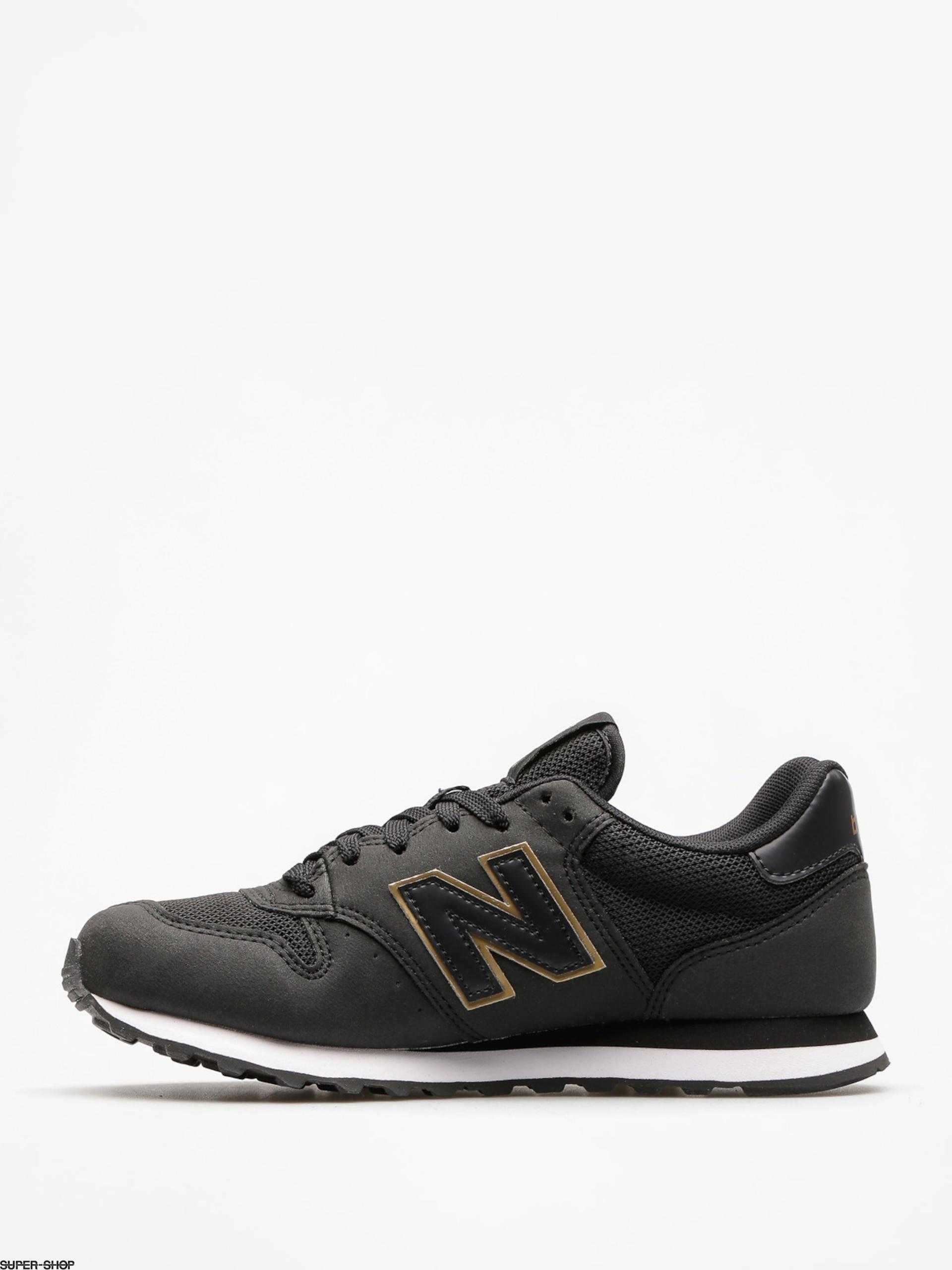 New Balance Shoes 500 Wmn (black/gold)
