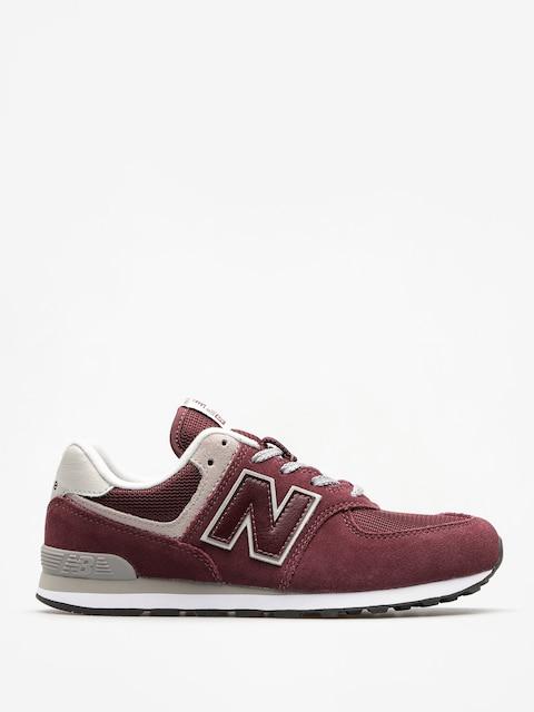 New Balance Shoes 574 (burgundy)