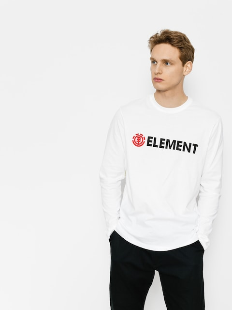 Element Longsleeve Blazin (optic white)