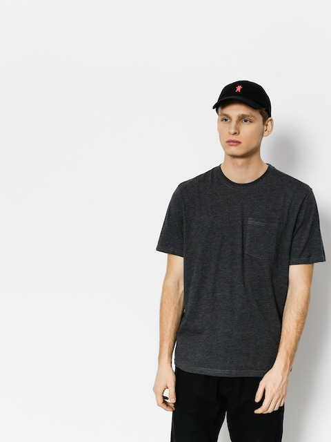 Element T-shirt Basic Pocket Cr (charcoal heathe)