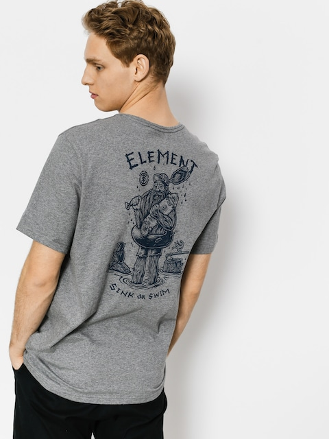 Element T-shirt River Keeper (grey heather)