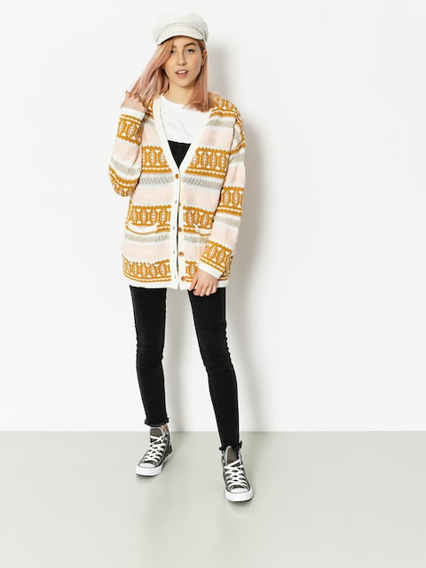 Roxy Cardigan Golden Statemine Wmn (spuce yellow lucie)