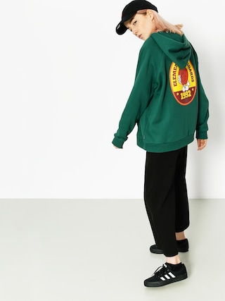 Element Hoodie Yawye HD Wmn (hunter green)