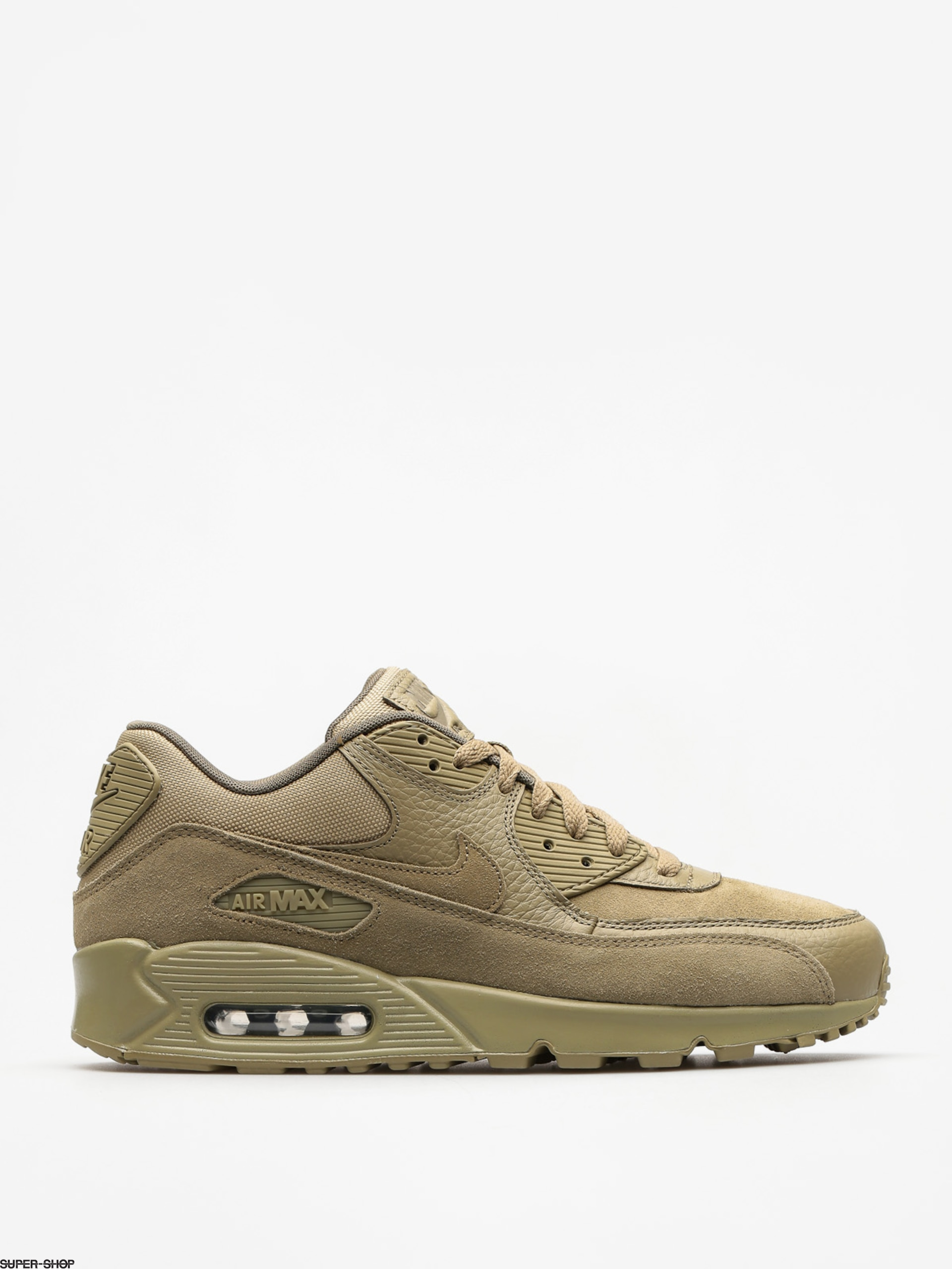 Nike Shoes Air Max 90 Premium (neutral olive/neutral olive medium olive)