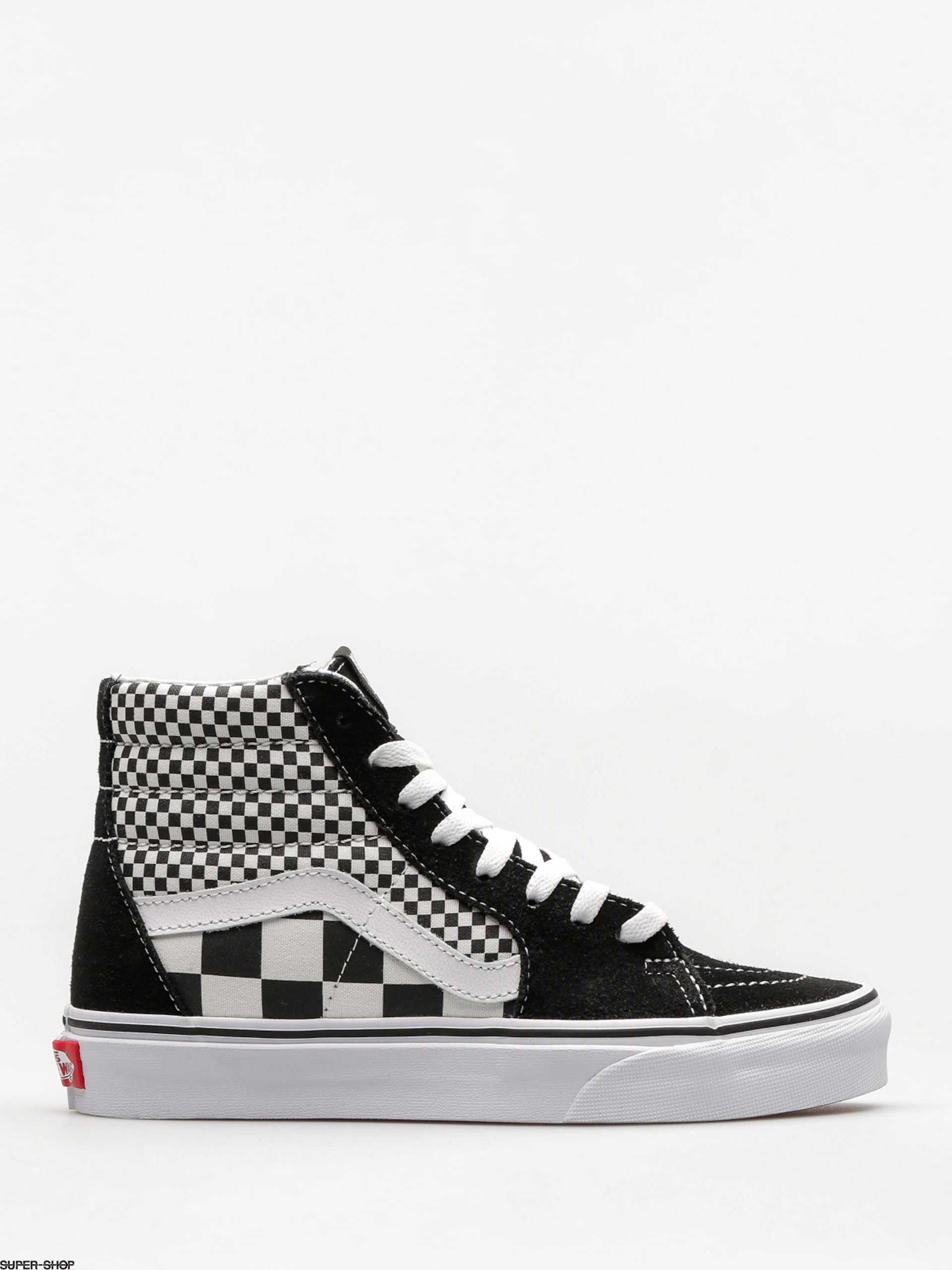5168440d1c02 Vans Shoes Sk8 Hi (mix checker black true white)