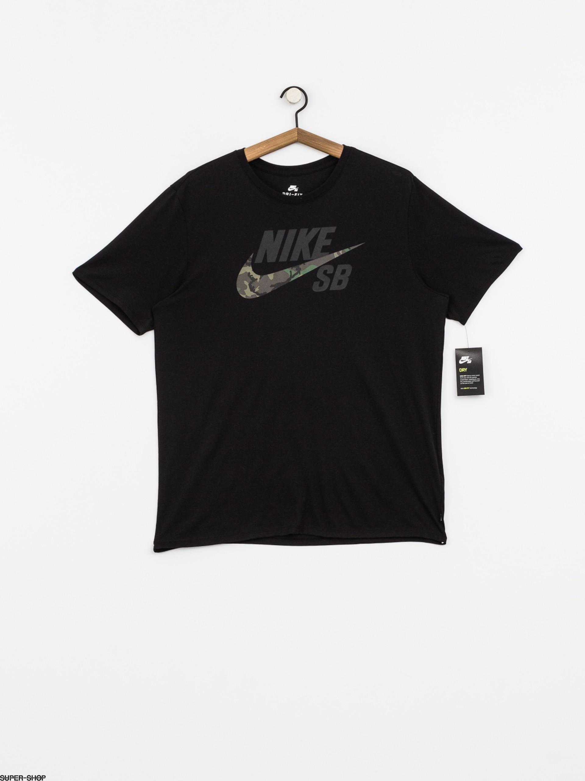 Nike SB DFC Camo T Shirt BlackBlack