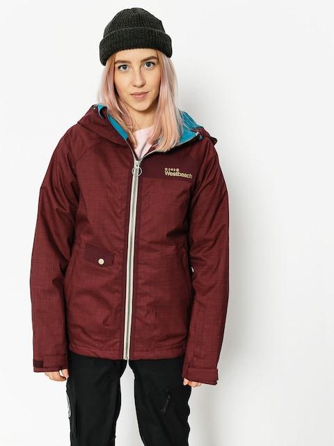Westbeach Snowboard jacket Kinsac Wmn (auburn)