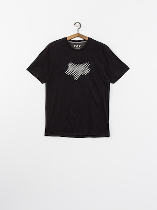 Fox T-shirt Cresent Airline (blk/gry)
