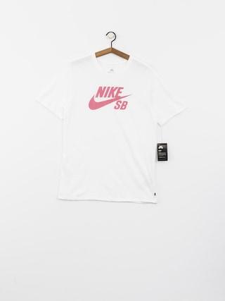 Nike SB T-shirt Sb Logo (white/elemental pink)