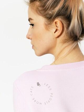 Diamante Wear Sweatshirt Fur And Four Legs Wmn (pink/grey)