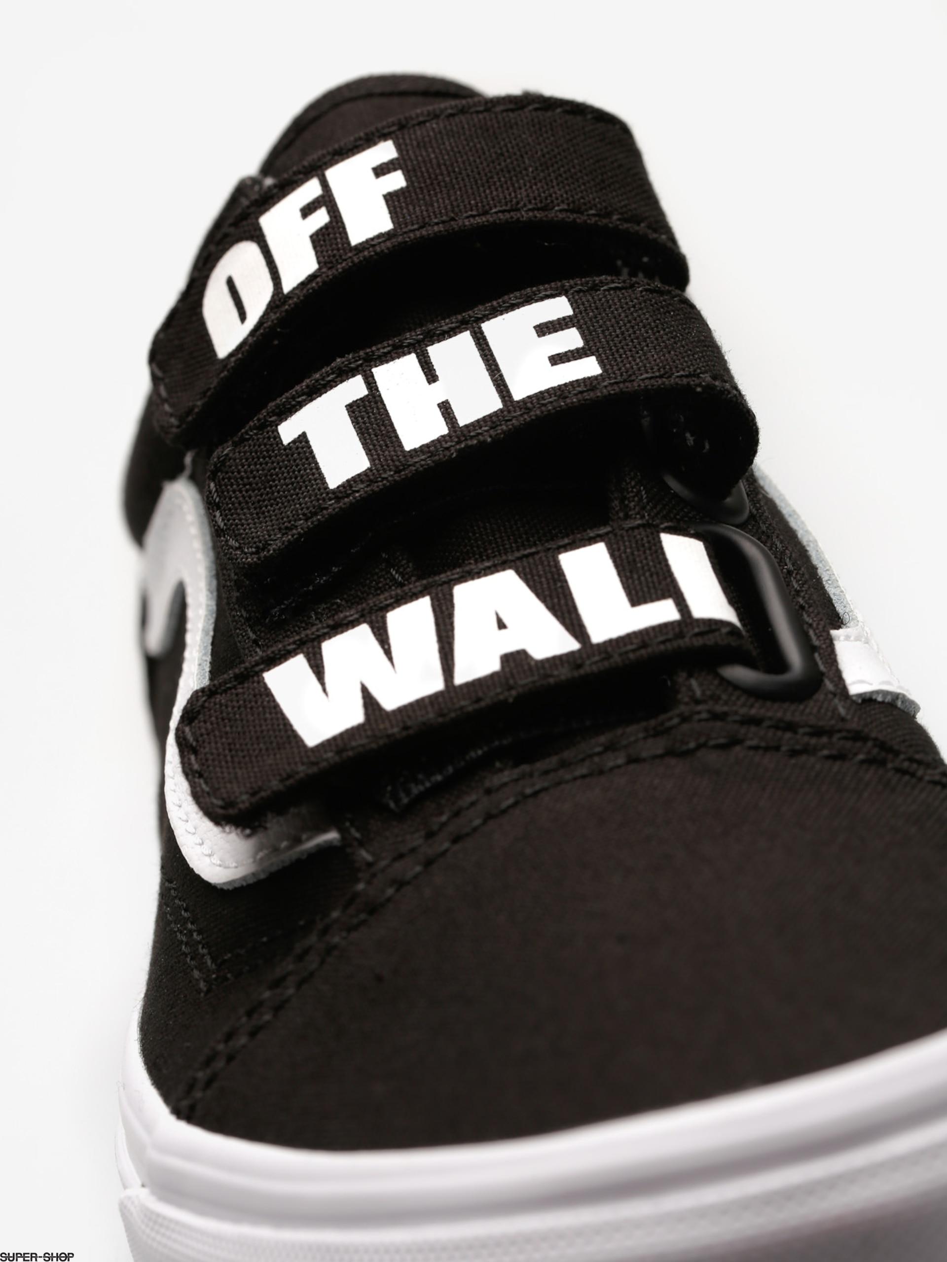 12d3848420d Vans Shoes Old Skool V (off the wall black true white)