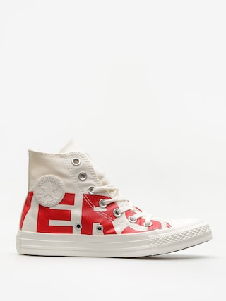 Converse Chucks Chuck Taylor All Star Hi (natural/enamel red/egret)