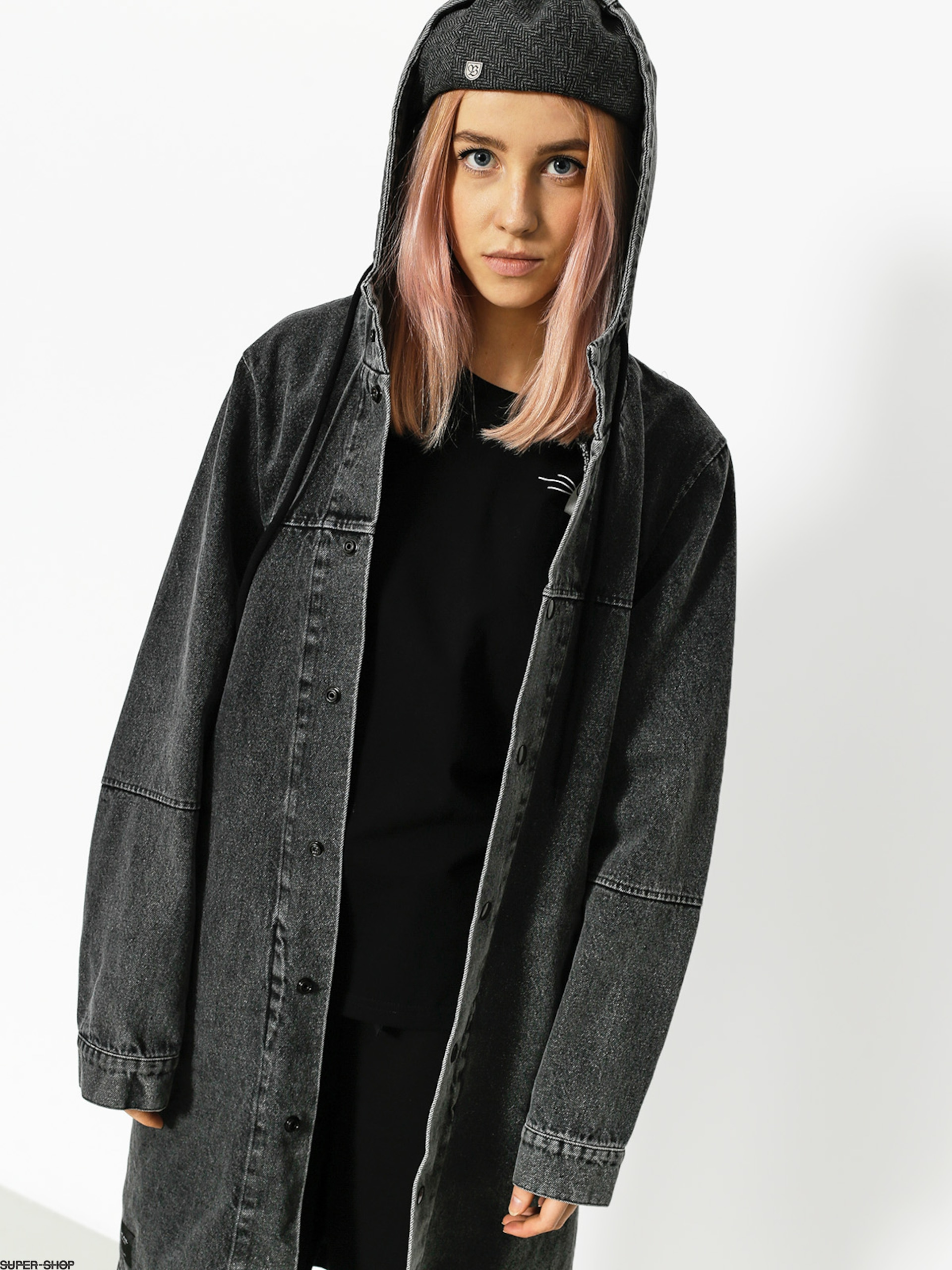 The Hive Jacket Parka Wmn (washed black)