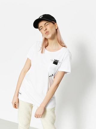 Diamante Wear T-shirt Catmom Wmn (white)