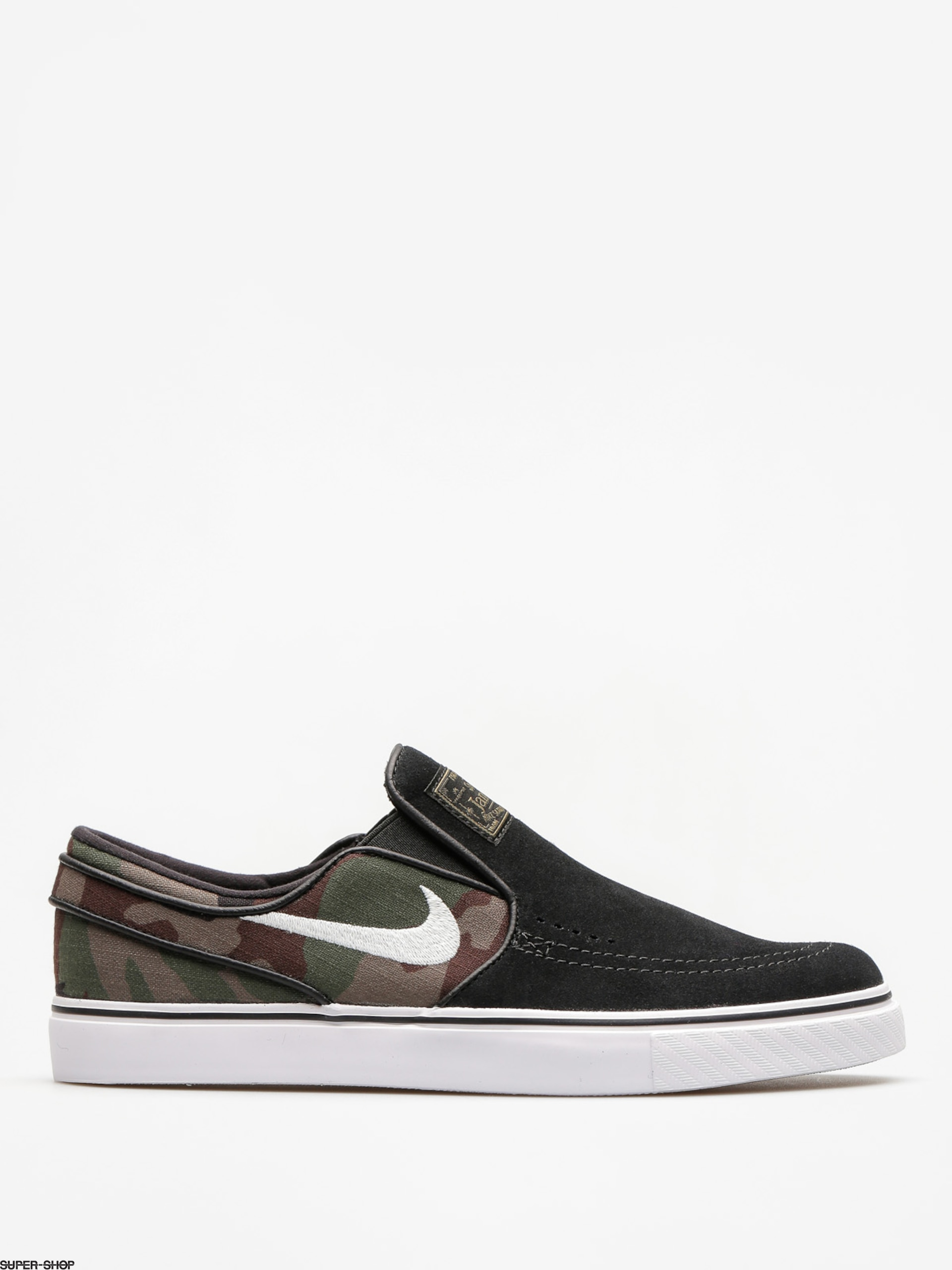 Nike SB Shoes Sb Zoom Stefan Janoski Slip (black/white multi color)