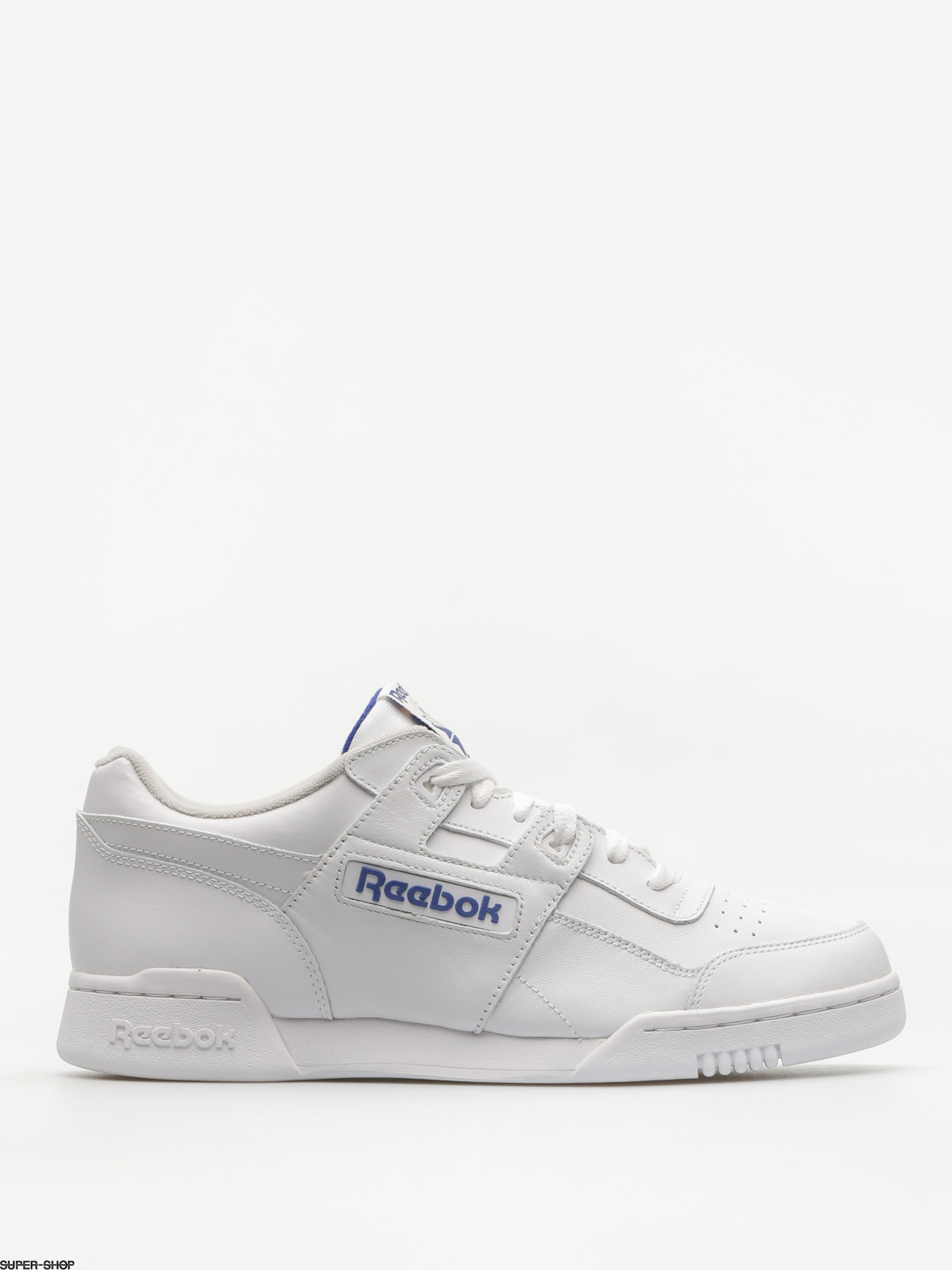 Reebok Shoes Workout Plus (white/royal)